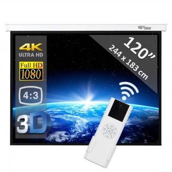 """Elektrisch scherm 120"""" - 305 cm (4:3)"""
