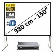 "Vouwscherm 150"" - 380 cm (16:9)"